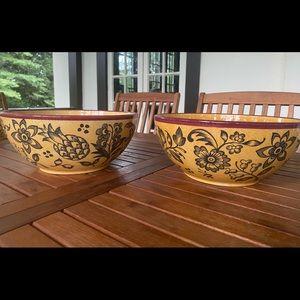 Vintage Villeroy & Boch Tropical Switch largebowls